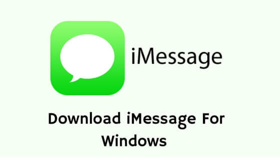 apple imessage download imessage for pc How to Use iMessage on Windows PC iMessage for PC imessage for pc windows 10