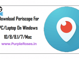 Download Periscope app for windows Pc Laptop