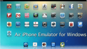 air iphone emulator for windows 10